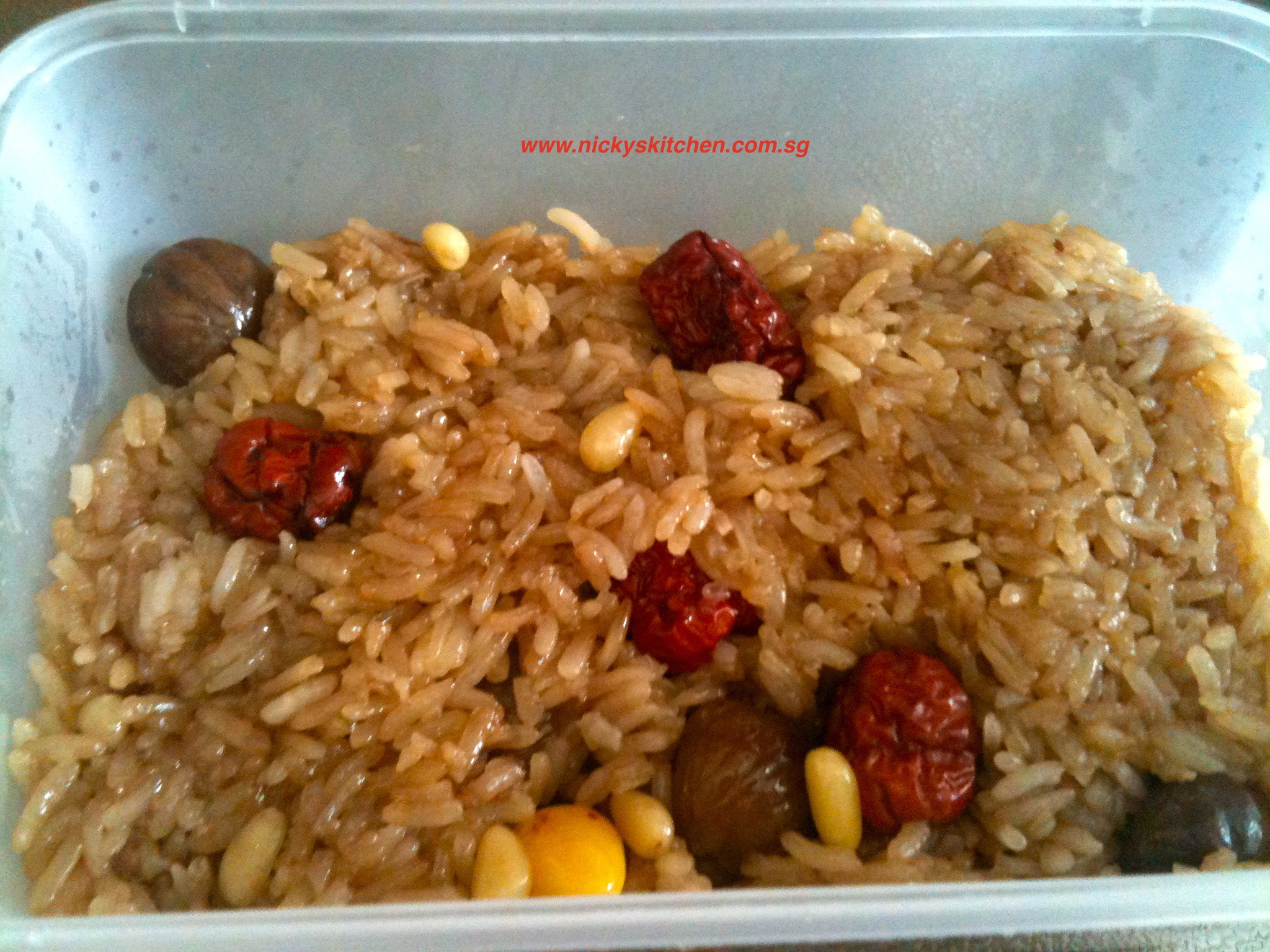 Rice cake – Yak shik (약식)