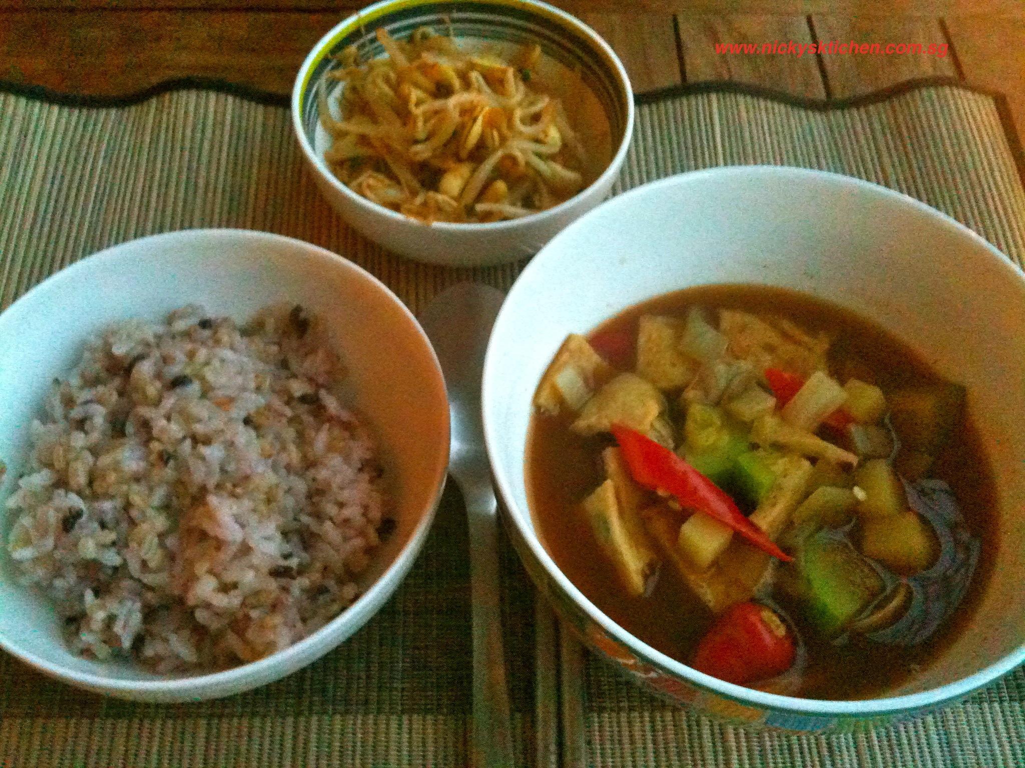 Korean miso soup – den jang jjige