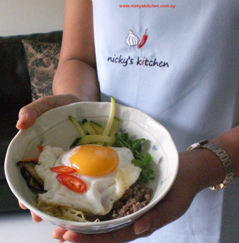 Korean cooking class – bibimbap