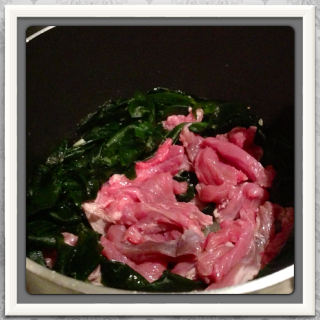 seaweed with beef