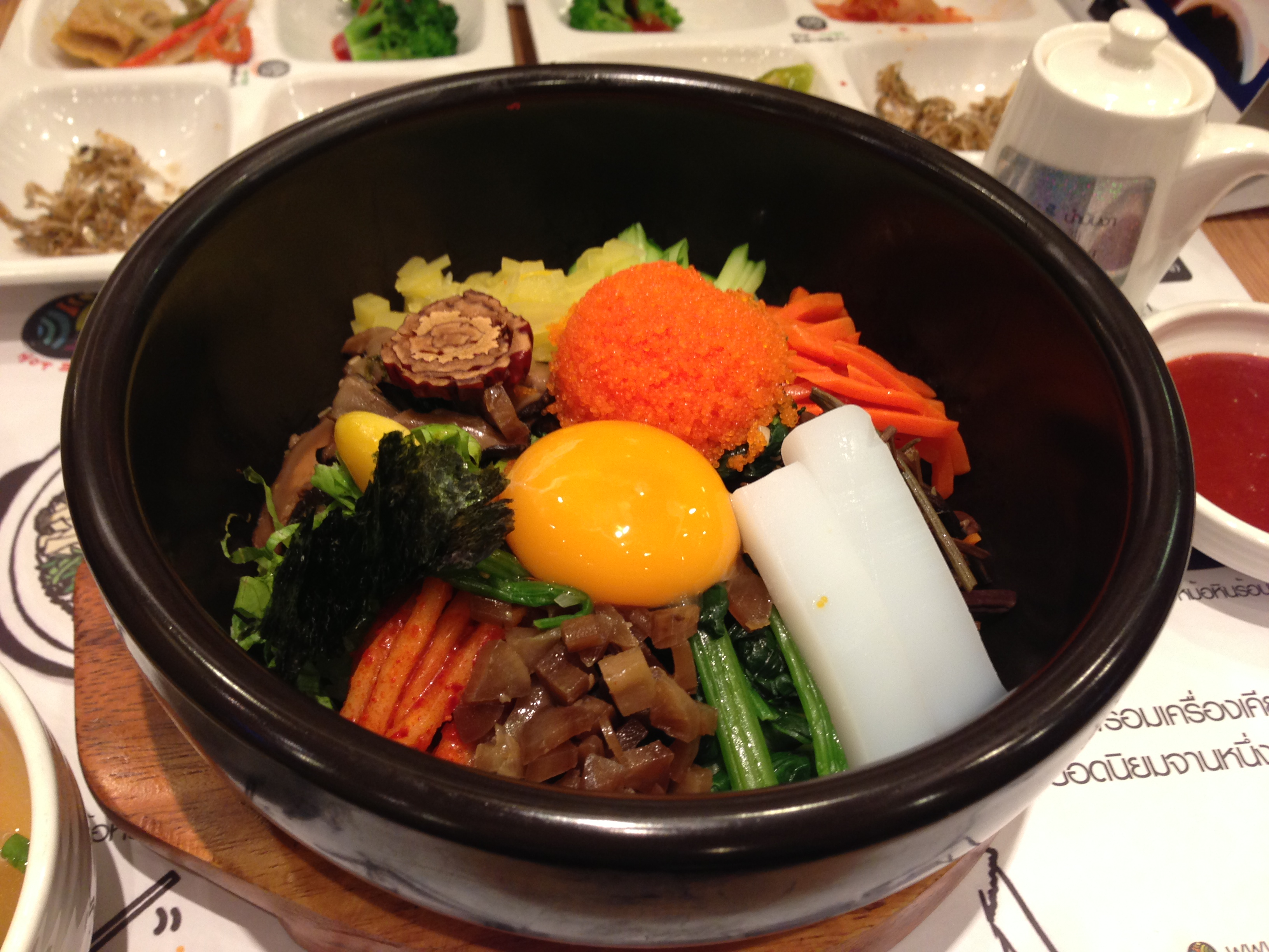 Bibimbap hunting in Bangkok