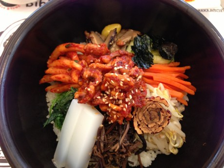 bibimbap-close up