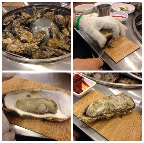oysters steamed 1