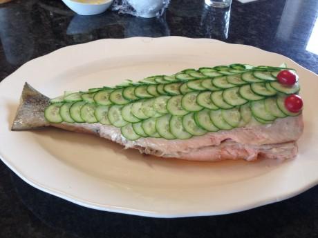 xmas feast-Salmon